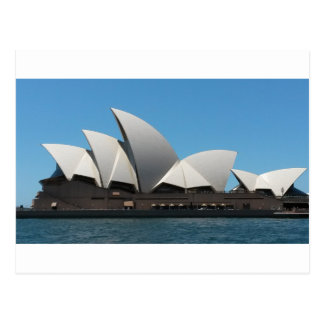 Carte postale de théatre de l'opéra de Sydney