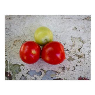 Carte postale de tomates cerise