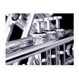 Carte postale de trompette