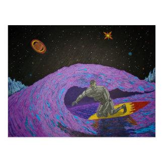 Carte postale de vacances de Surfin de McBolt