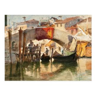 Carte postale de Venise de Roussoff