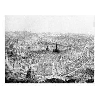 Carte postale de Vienne, circa 1890