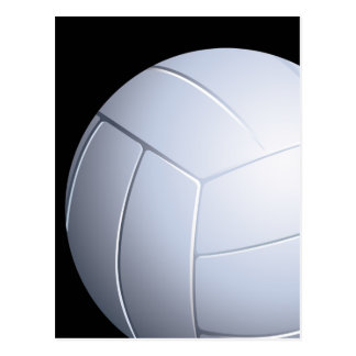Carte postale de volleyball