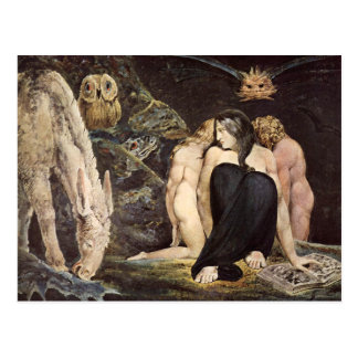 Carte postale de William Blake Hecate