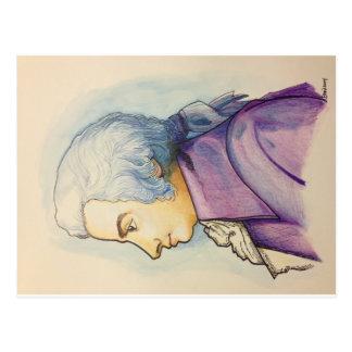Carte postale de Wolfgang A. Mozart