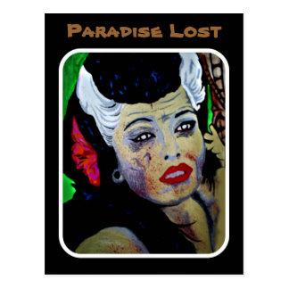 "Carte postale de zombi de Tiki perdue ""par"