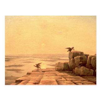 Carte Postale Débordement du Nil, 1842