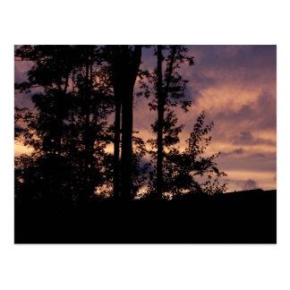 Carte Postale Début septembre crépuscule