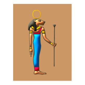 Carte Postale Déesse de lion Sekhmet Sachmet égyptienne egypt