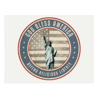 Carte Postale Défendez la liberté religieuse