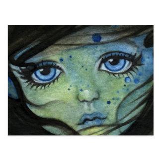 Carte postale d'Elf de mer