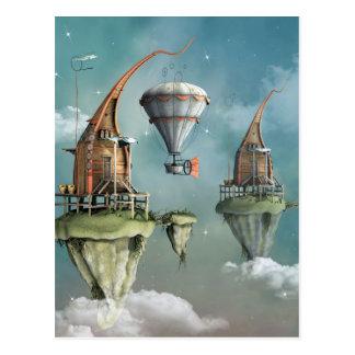 Carte Postale Demeure de ciel d'imaginaire