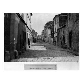 Carte Postale DES Anglaises de rue, de rue de Lourcine, Paris