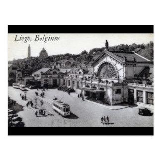 Carte Postale DES Guillemins, cru de Gare de Liège Belgique