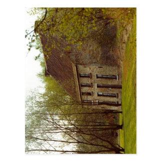 Carte Postale Description Cuesmes (Belgique), maison Van Gogh de