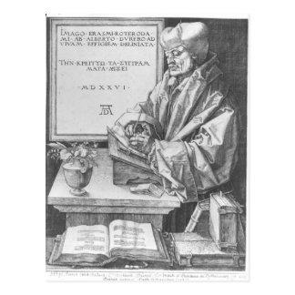 Carte Postale Desiderius Erasmus de Rotterdam, 1526