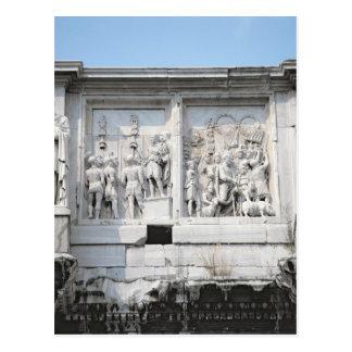 Carte Postale Détail de la voûte de Constantine
