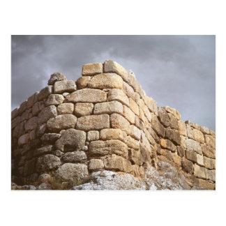 Carte Postale Détail d'un mur en pierre