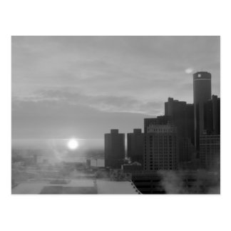 Carte Postale Detroit