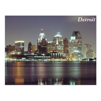 Carte Postale Detroit, Michigan