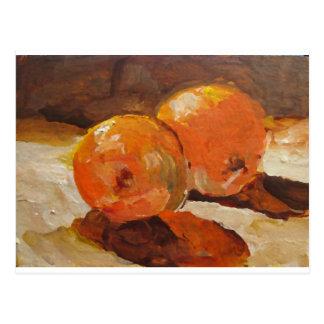 Carte Postale Deux oranges