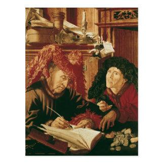 Carte Postale Deux ramasseurs d'impôts, c.1540
