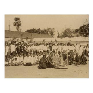 Carte Postale Dévotions à la pagoda d'Arakan, Mandalay,