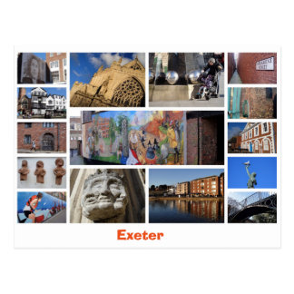 Carte postale d'Exeter
