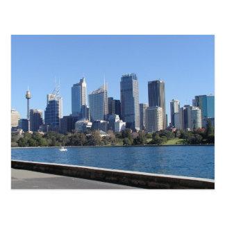 Carte postale d'horizon de Sydney
