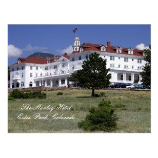 Carte postale d'hôtel de Stanley