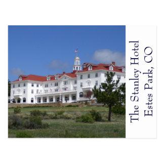 Carte postale d'hôtel du Colorado Stanley de parc