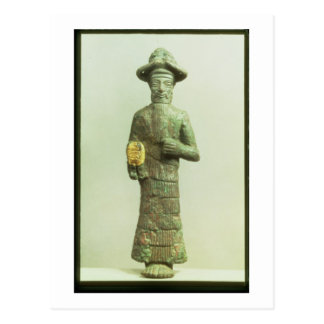 Carte Postale Dieu d'Elamite avec la main d'or de Susa,