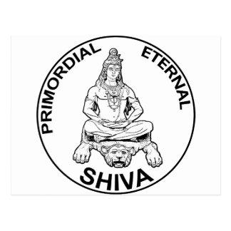 Carte Postale Dieu éternel de seigneur Shiva et indien