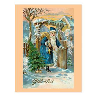 """Carte Postale """"Dieu juillet """""""