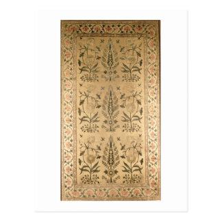 Carte Postale Diffusion de plancher de velours, Moghul, période