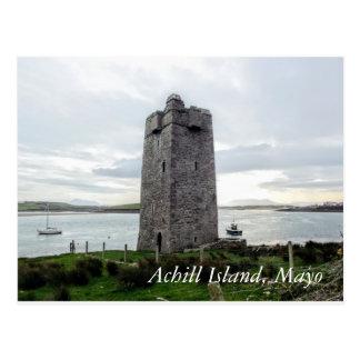 Carte postale d'île d'Achill