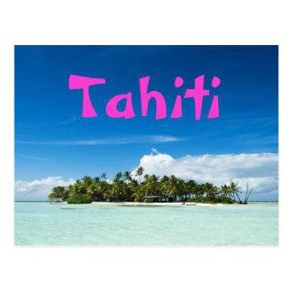 Carte postale d'île du Tahiti Carte Postale