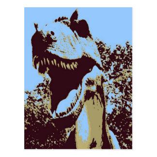 Carte Postale Dinosaure de Rex de Tyrannosaurus