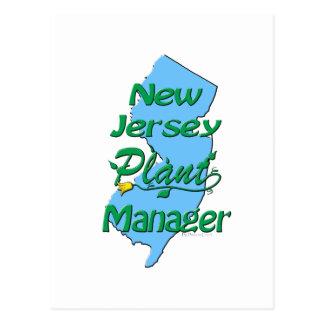 Carte Postale Directeur d'installation de New Jersey