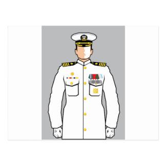 Carte Postale Dirigeant de marine