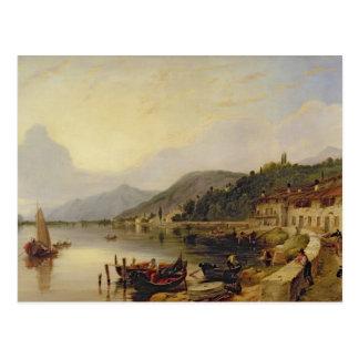 Carte Postale d'Iseo de Lago, Italie