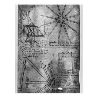 Carte Postale Divers moteurs et instruments