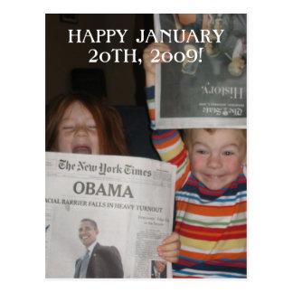 Carte postale d'Obama