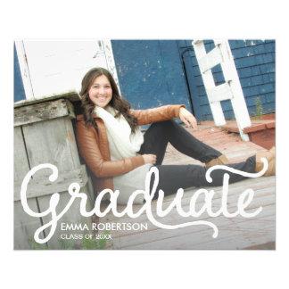Carte postale d'obtention du diplôme prospectus 11,4 cm x 14,2 cm