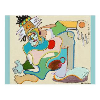 """Carte Postale """"Docteur de racines"""" par Ruchell Alexandre"""