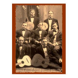 Carte postale d'orchestre à cordes