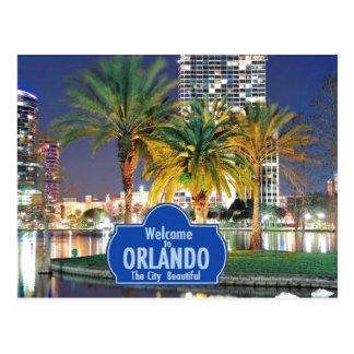 Carte postale d'Orlando la Floride