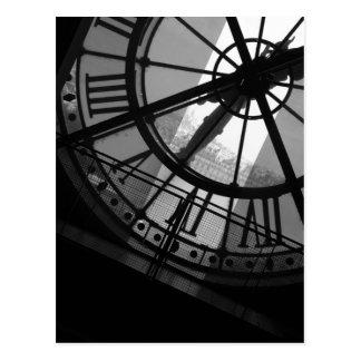 Carte postale d'Orsay d'horloge de Musee