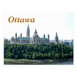 Carte postale d'Ottawa