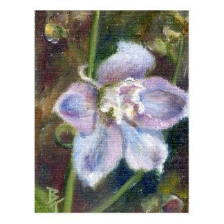 Carte postale douce de la fleur ACEO
